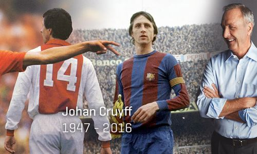 Johan Cruyff will live on through the Cruyff Foundation, the charity he founded in 1997