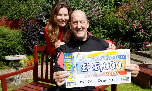 Norman Milne from Dalgety Bay has won an incredible £25,000 this weekend