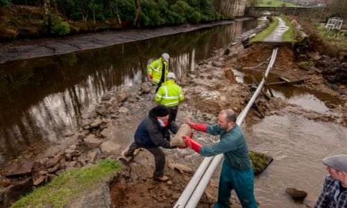 Canal & River Trust are working hard to restore the damage done to flood-hit areas