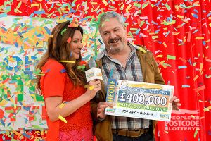 01. Holmfirth player James Wilson finds out he has just won £400,000