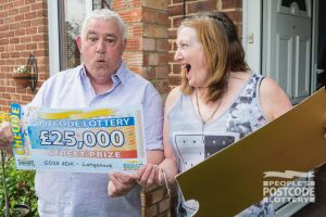 01. Henry and his wife were shocked to win a terrific £25,000