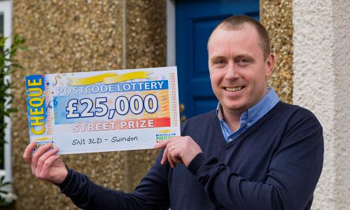 Swindon player Michael Carter won an incredible £25,000 this weekend