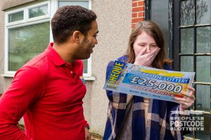 01. Yate player Catherine Turner was writing her dissertation when Danyl Johnson surprised her with an incredible cheque