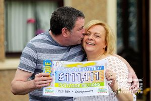 08.  A kiss to celebrate an amazing £111,111 win