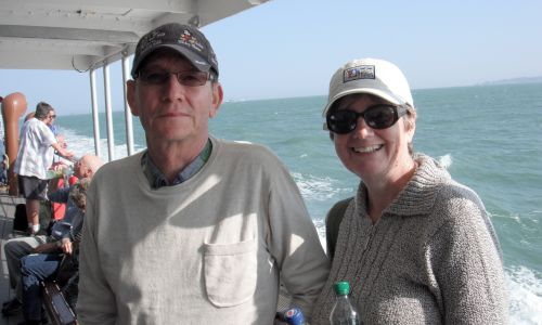 Brian and Rachel Arnold had a tremendous time on their Dementia Adventure holiday