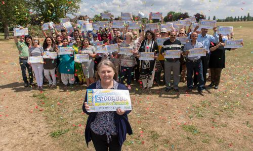 Slough players have won an amazing £2 Million in the June Postcode Millions