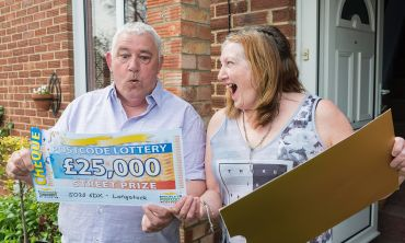 Henry and his wife were shocked to win a terrific £25,000