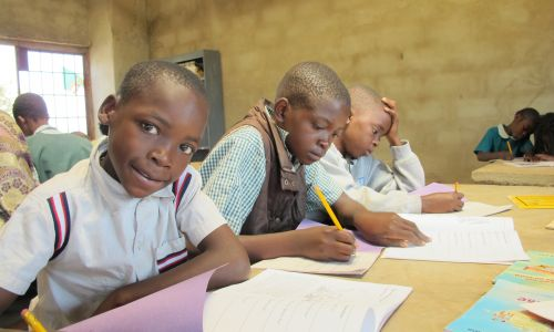 Book Aid International hopes to give more African children the chance to read