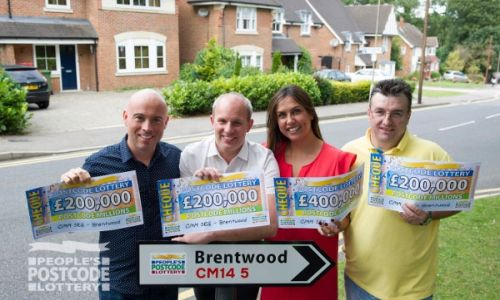 Four Brentwood winners collected an amazing £1 Million in prizes this weekend