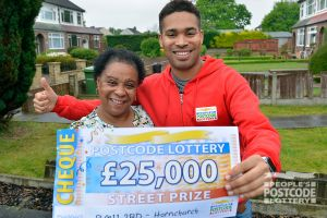 04. Danyl with Hornchurch Street Prize winner Sharon