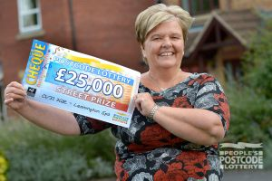 Christine says she plans to spend her winnings on a cruise and home improvements