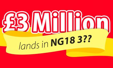 NG18 3 has been revealed as the winning postcode sector for the July Postcode Millions
