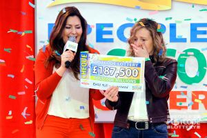 11. Jillian Peacock was stunned when she saw her winning cheque