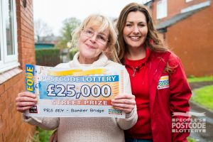 Elaine plans to spend her winnings treating her family at Christmas