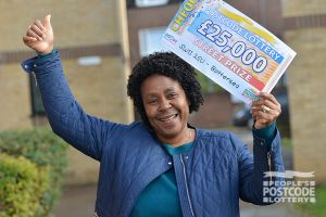 Joyce plans to spend her winnings on a trip to Ghana and to take her daughter to Disneyland