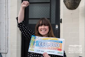 Julie plans to use her winnings to help buy a new house