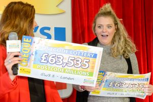 Jayne says that her £127,070 win is like a dream!