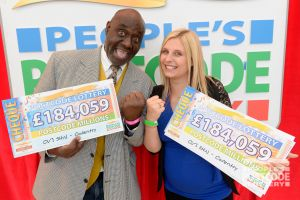 17. Big winners Donald and Jesica celebrating a life-changing day!