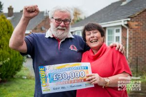 Lynda and Malcolm are planning a trip to America with their winnings