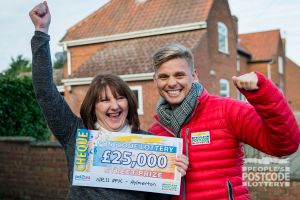 Dog trainer Katherine was over the moon with her £25,000 win