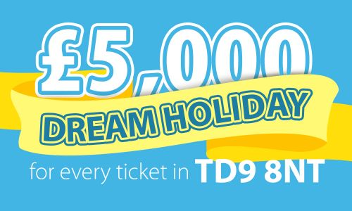 One lucky winner in Denholm has scooped this month's Dream Holiday prize