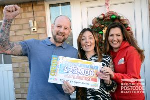 03. Winning £25,000 is a terrific way to finish the year!