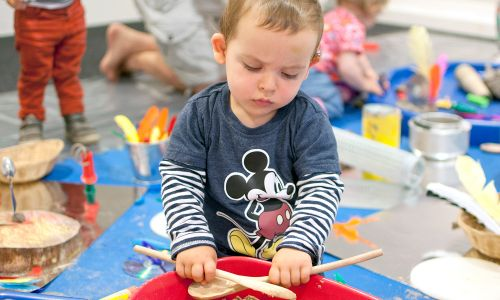 There are creative activities for people of all ages at mac birmingham