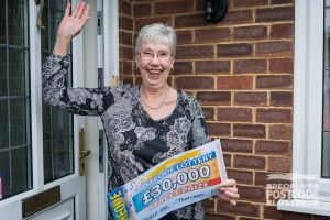 Heather is planning to use her winnings to celebrate her birthday with her family this year