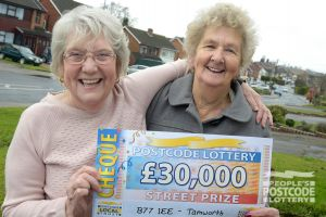 Valerie plans to visit her son in Australia with her winnings
