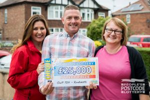 Paul and his wife plan to use their winnings on home projects and to treat themselves