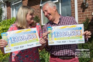 Bryan and Irene plan to spend their winnings travelling the world