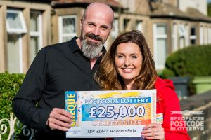 05. Judie with Robert, one of the lucky Huddersfield Street Prize winners