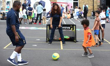 Tottenham Hotspur Foundation uses football in particular as a means of engaging children and young people