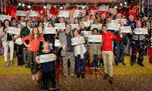 Congratulations to our lucky Postcode Millions winners in West Bromich, who shared £3 Million in prizes