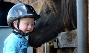 Children and adults with disabilities find new friends in the RDA horses