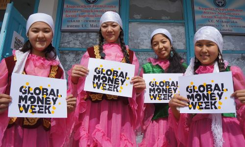 Global Money Week took place in 132 countries, including Kyrgyzstan