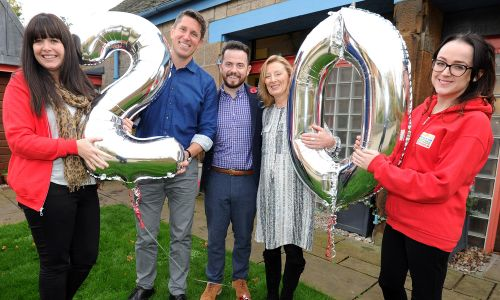Maggie's recently held a celebration in Edinburgh to mark turning 20