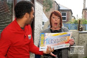 01. Kathleen Smith was gobsmacked when she saw her £25,000 cheque