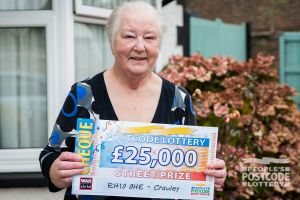 Gillian plans to spend her winnings on a campervan to travel to classic car rallies