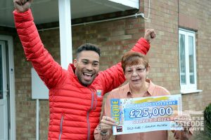 Shirley is planning to spend her winnings treating her family