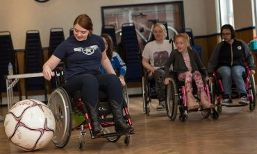 Whizz-Kidz support disabled children and young people and help them achieve their dreams