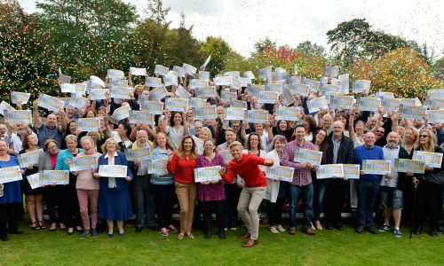 Over 400 happy Didcot players celebrated sharing £3 Million together at the weekend