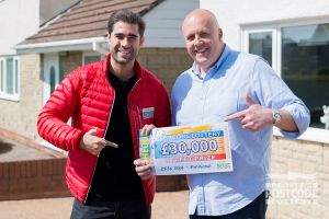 Brian Rowlands is getting a extension put on his family's home and plans to put his winnings towards it