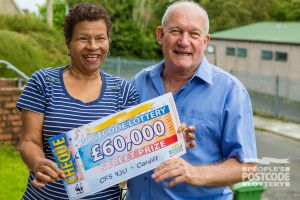 Jeff and Val are planning to share their winnings with family, and get a new car
