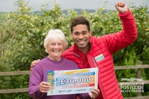 Doris couldn't believe that she had won £30,000