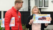 Lisa from Leigh-on-Sea will be driving around in style after winning a new BMW and £50,000