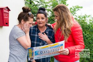 Belinda couldn't believe her luck when she discovered she had won