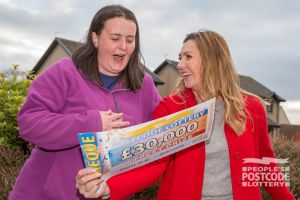 Sarah Ann couldn't believe her eyes when Judie revealed how much she had won