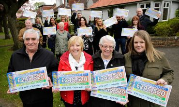 Kirkcaldy's four big winners in April's Postcode Millions