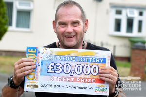 Andrew plans to use his winnings to take a trip to Cornwall with his daughter